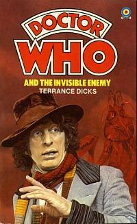 Doctor Who and the Invisible Enemy - 1979 book by Terrance Dicks