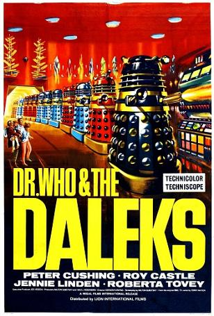Dr. Who & The Daleks film poster (1985)