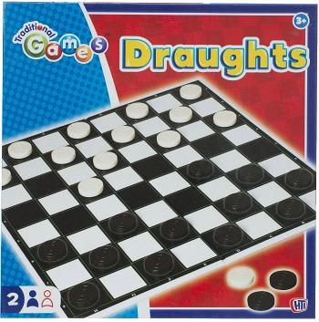 Traditional Draughts Board Game