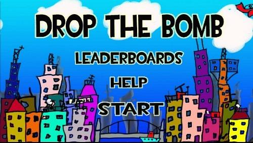 Drop The Bomb Title Screen