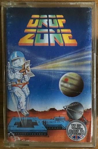Dropzone C64 cassette game