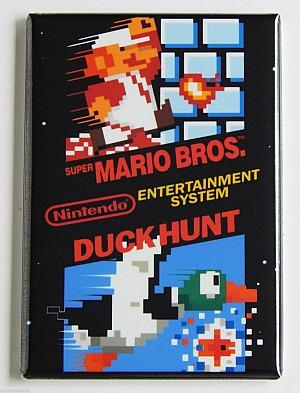 Duck Hunt and Super Mario Bros - NES double game cartridge