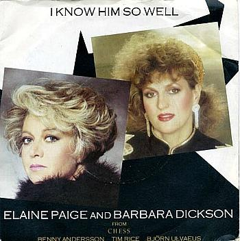 Elaine Paige and Barbara Dickson - I Know Him So Well (1984 single) from the musical Chess