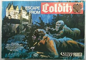 Escape From Colditz by Parker Brothers - 70s Board Game