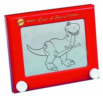 Classic Etch A Sketch Toy by MAttel