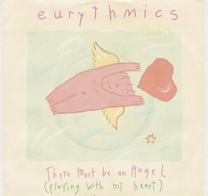 Eurythmics - There Must Be An Angel (Playing With My Heart) Vinyl Sleeve 7 inch
