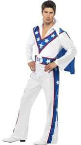 Evel Knievel Fancy Dress Costume