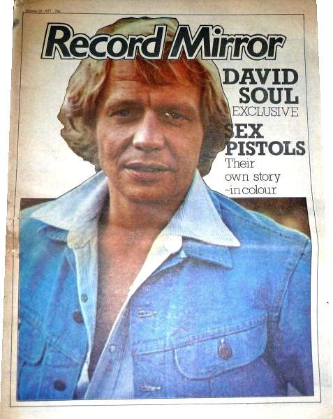 Record Mirror Oct 1977 ft. David Soul