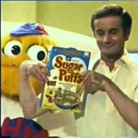 Hwney McGee and Honey Monster in 1976 Sugar Puffs advert