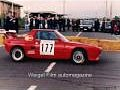Red Fiat X1/9 car from the 1980's