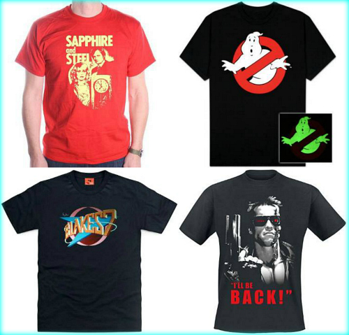 80s Film and TV T-shirts