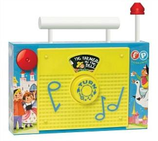 Fisher Price Classics TV Radio