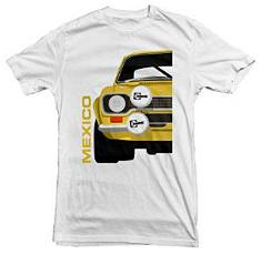 Ford Escort Mexico Rally Car T-shirt for Men