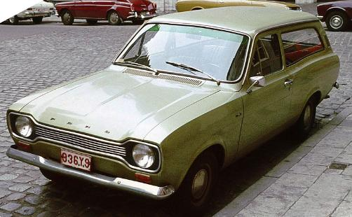 Ford Escort Mark 1 estate 1974