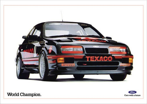 80s Advert For The Sierra Cosworth RS 500