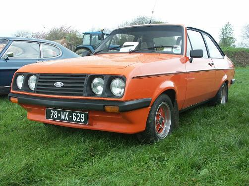 1978 Ford Escort RS2000 - orange