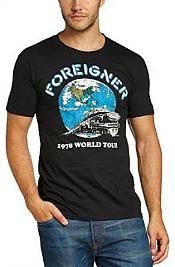 Foreigner 1978 World Tour T-shirt