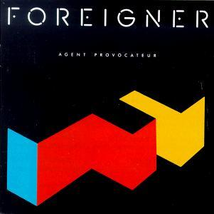 Agent Provocateur album sleeve - Foreigner