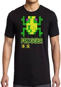 Frogger Retro Gamer T-shirt