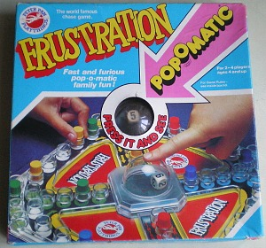 1970s Frustration Popomatic Board Game