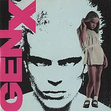 Generation X - Dancing With Myself vinyl single sleeve