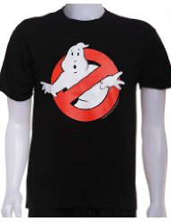 Ghostbusters Logo Black T-Shirt