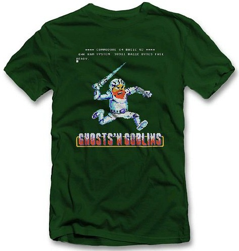 Ghosts N' Goblins T-shirt