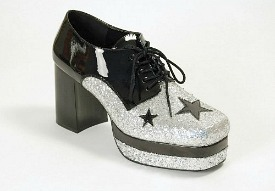 Glam Rock Platform Shoes