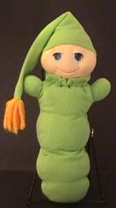 80s Glo Worm Plush Toy
