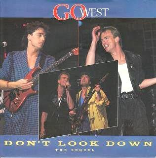 Don't Look Down (The Sequel) single - Go West (1985)
