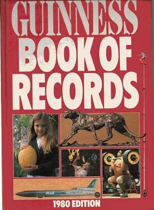 Guinness Book of Records 1980