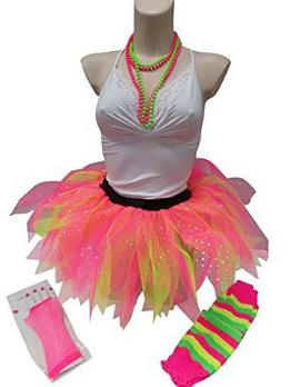 80s Skirt - Five Layer Diamante Tutu Skirt Kit