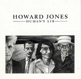 Human's Lib album sleeve - Howard Jones