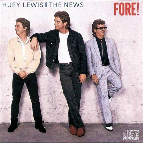 Fore! - vinyl album sleeve by Huey Lewis And The News