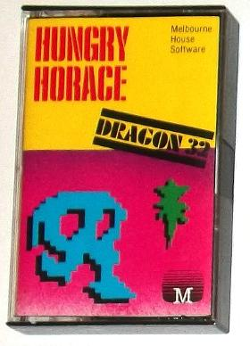 Hungry Horace Dragon 32 cassette