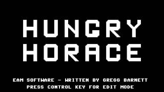 Hungry Horace title screen C64