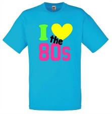 I Love The 80s Neon T-Shirt