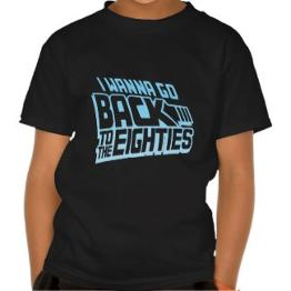 I Wann Go Back to the Eighties T-shirt for Men