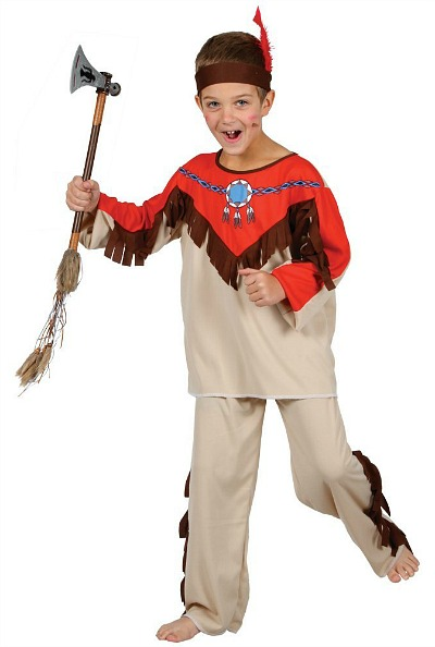 Native Indian Costume for Boys