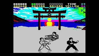 International Karate + (Plus) ZX Spectrum screen grab