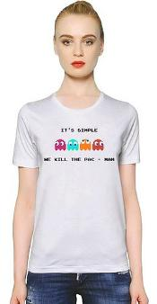 It's Simple We Kill The Pac-Man T-shirt for Women