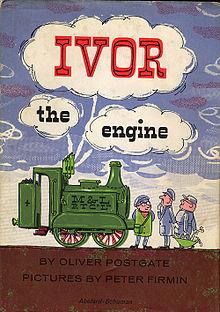 Ivor The Engine book (1962) by Oliver Postgate