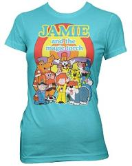 Jamie and the Magic Torch - ladies T-shirt