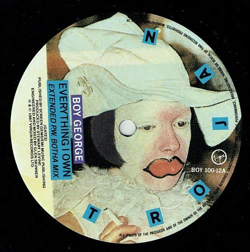Boy George Everything I Own Extended P. W. Botha Mix