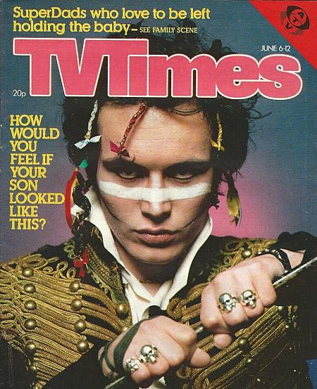 TV Times June 6-12 1981 - Adam Ant