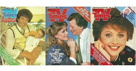 TV Times mags from the 80s