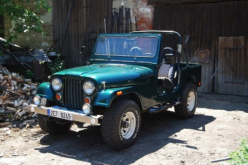 Jeep CJ-7 Green