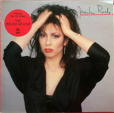 Jennifer Rush self-titled LP (1985) inc. The Power of Love