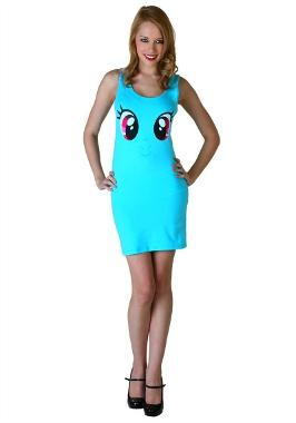 My Little Pony Blue Tank Dress Costume