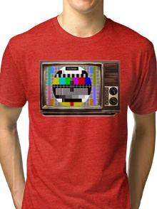 Test Pattern on Old TV T-shirt